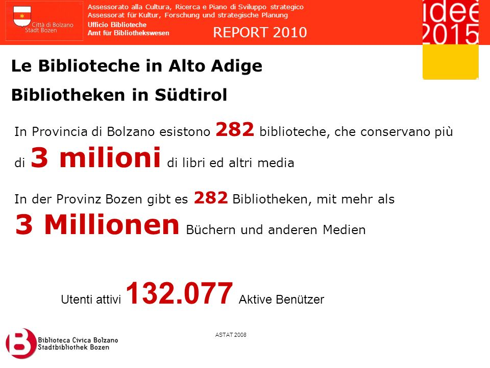 3 Millionen Büchern und anderen Medien