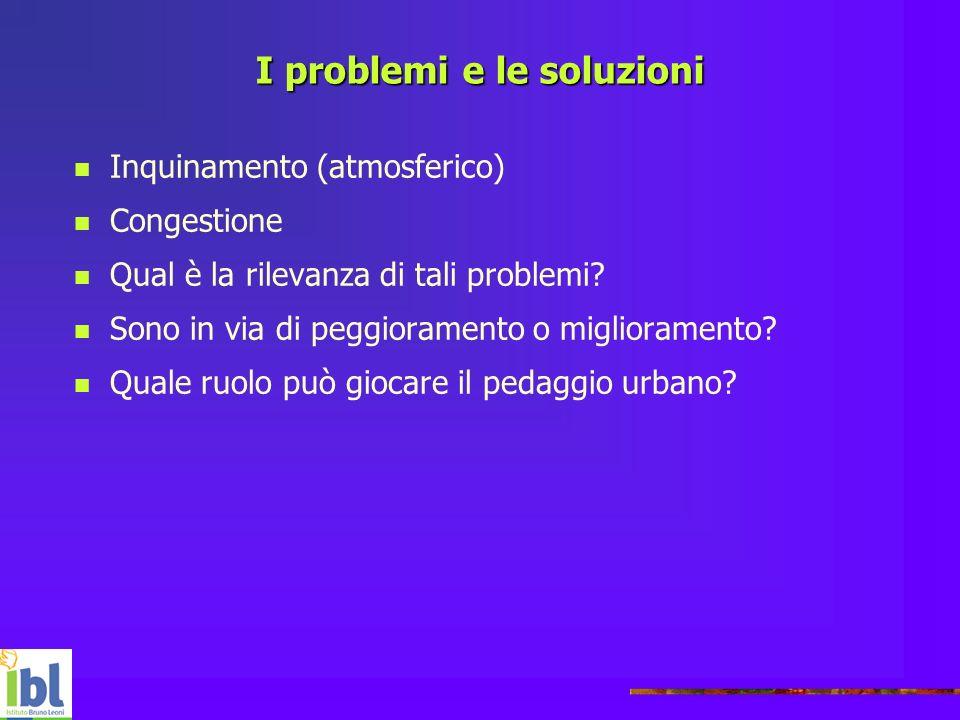 I problemi e le soluzioni