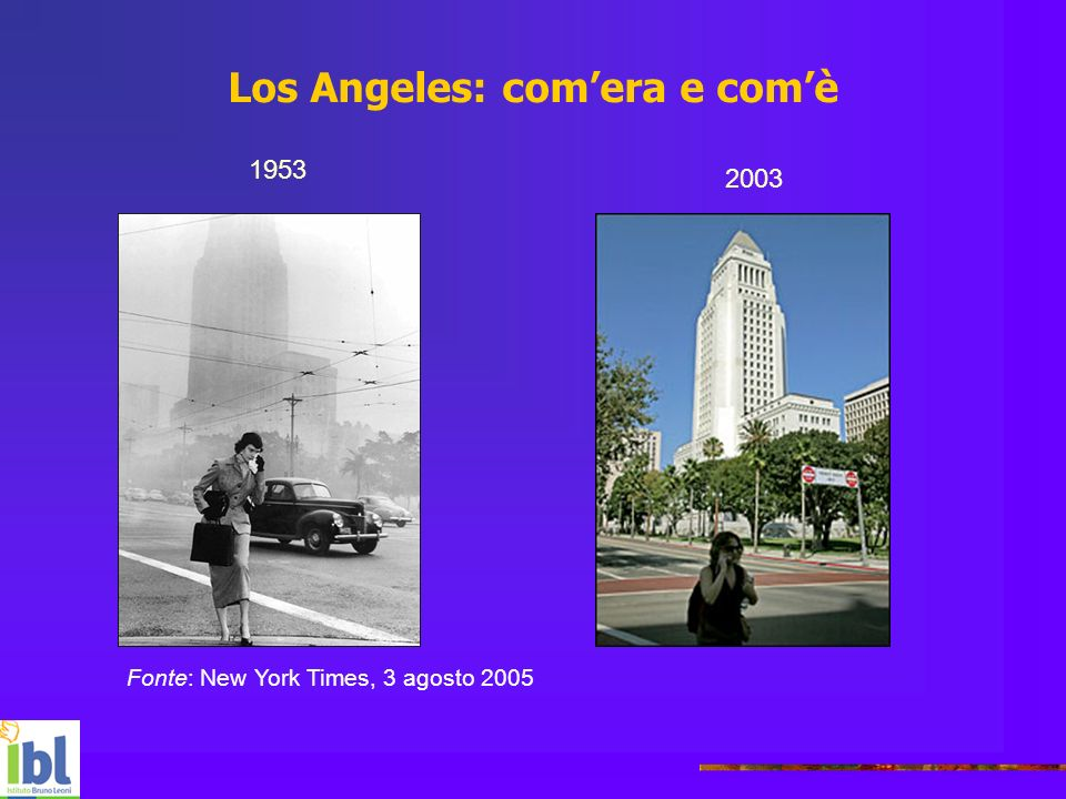 Los Angeles: com'era e com'è