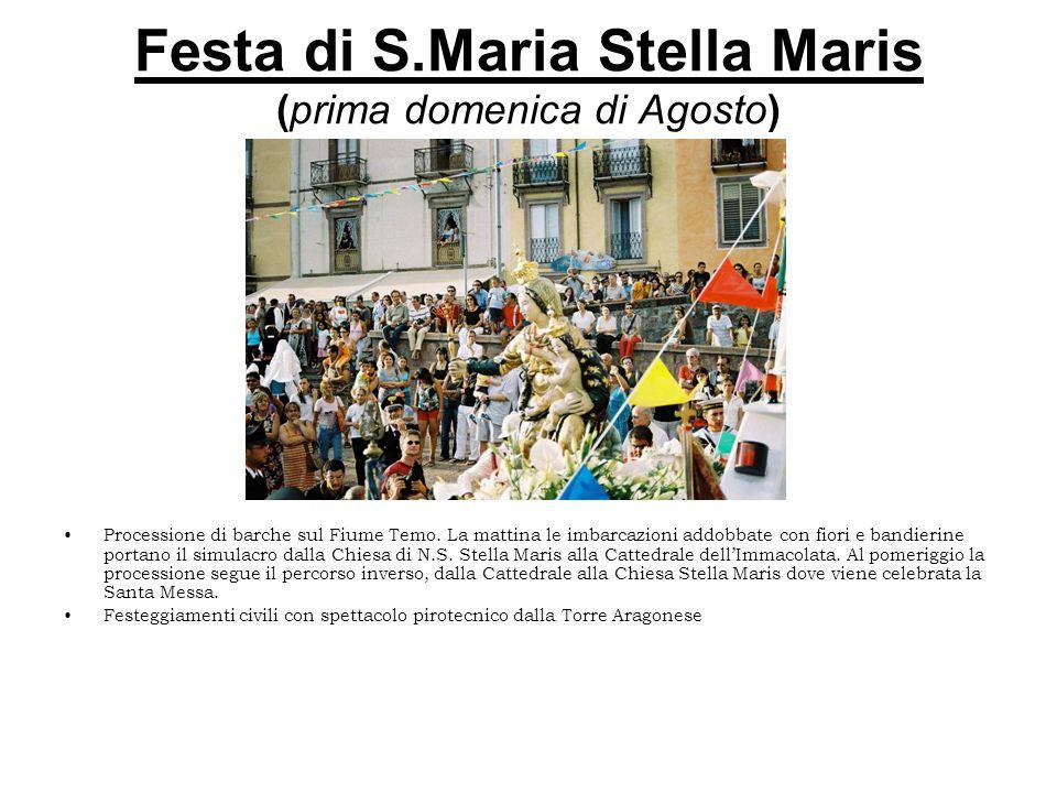 Festa di S.Maria Stella Maris (prima domenica di Agosto)
