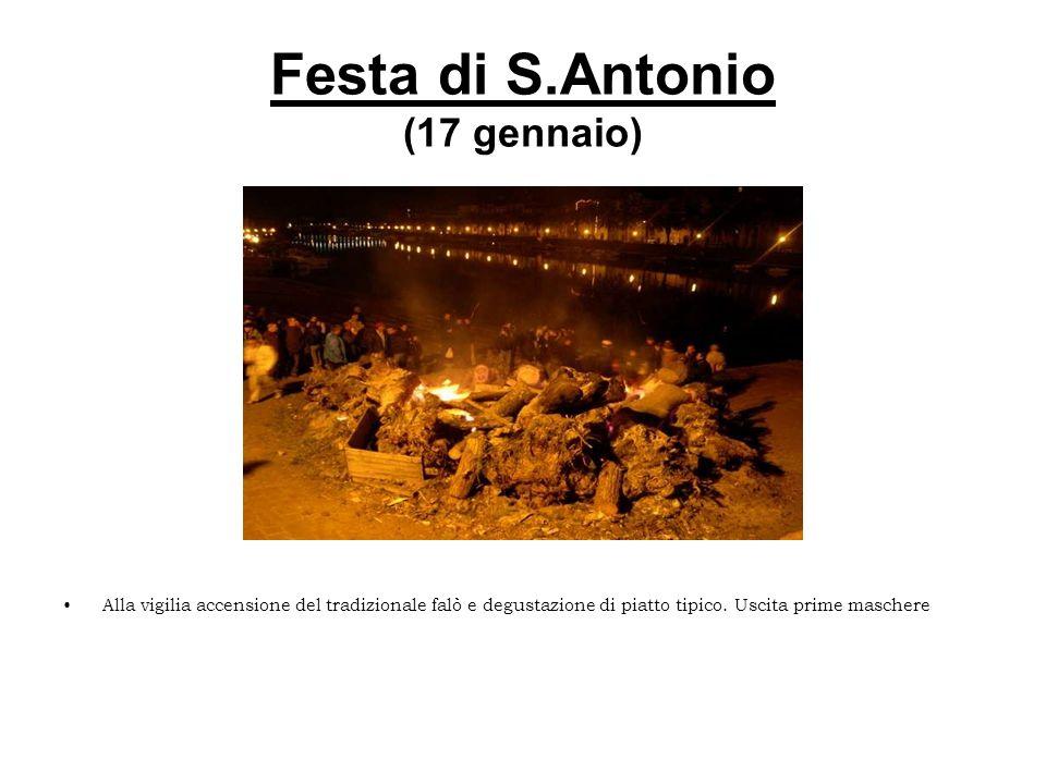 Festa di S.Antonio (17 gennaio)