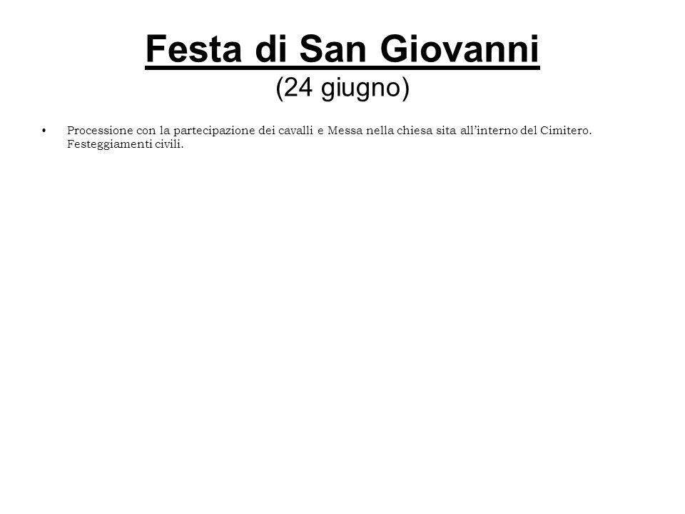 Festa di San Giovanni (24 giugno)