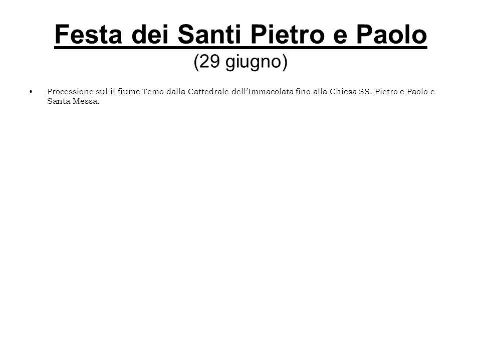 Festa dei Santi Pietro e Paolo (29 giugno)