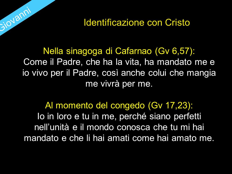 Identificazione con Cristo