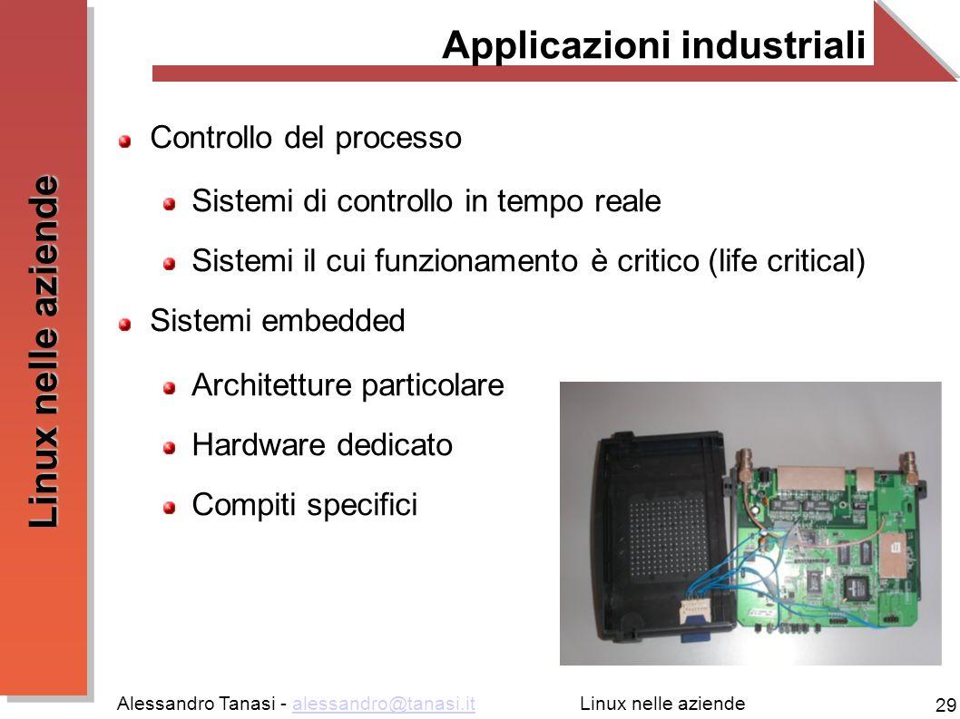 Applicazioni industriali