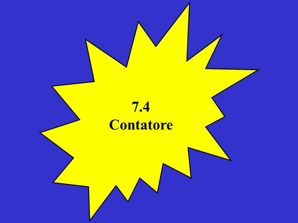 7.4 Contatore
