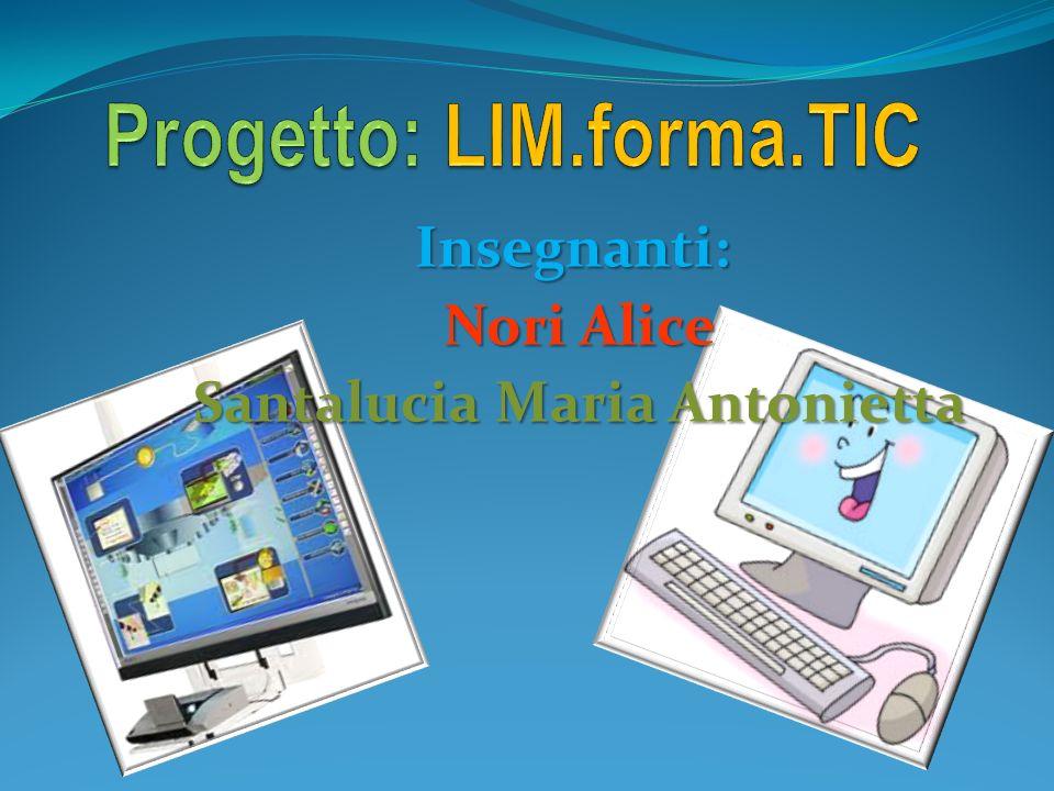Progetto: LIM.forma.TIC