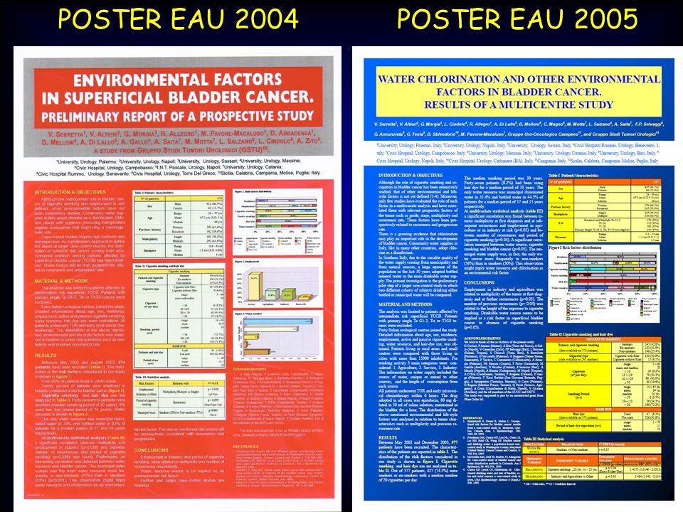 POSTER EAU 2004 POSTER EAU 2005