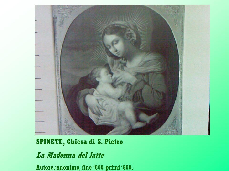 SPINETE, Chiesa di S. Pietro La Madonna del latte