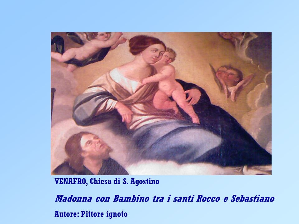 Madonna con Bambino tra i santi Rocco e Sebastiano