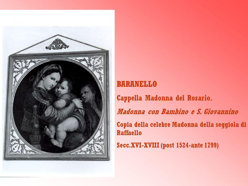 BARANELLO Cappella Madonna del Rosario.