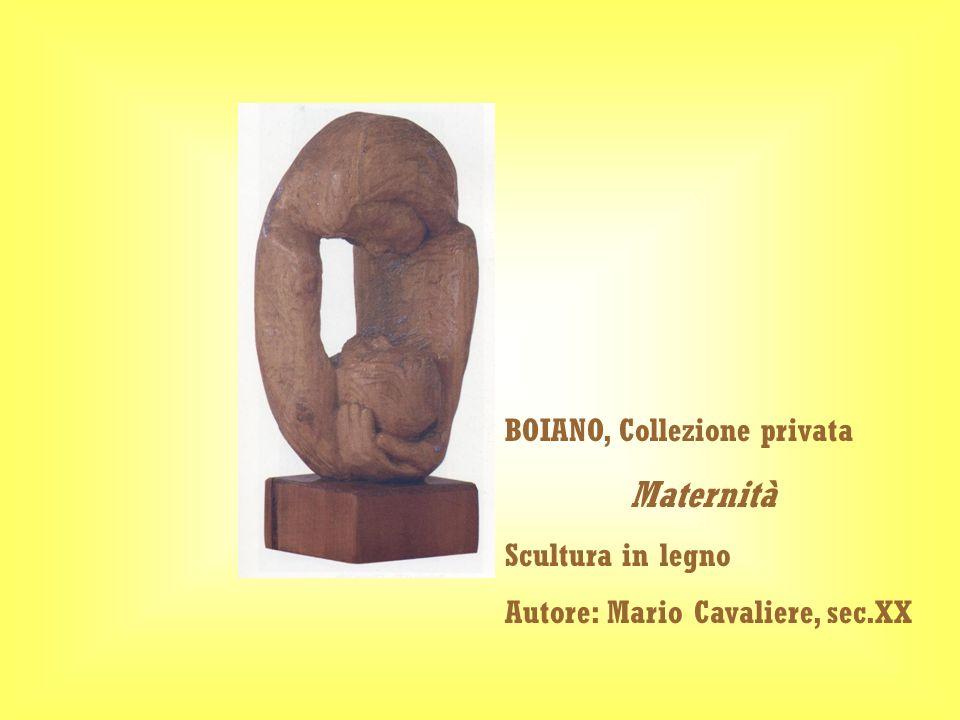 Maternità BOIANO, Collezione privata Scultura in legno