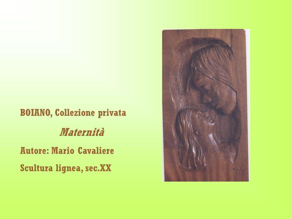 BOIANO, Collezione privata