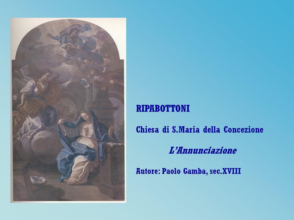 RIPABOTTONI Chiesa di S.Maria della Concezione L'Annunciazione