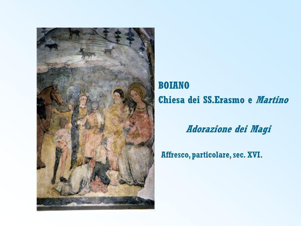 Chiesa dei SS.Erasmo e Martino Adorazione dei Magi