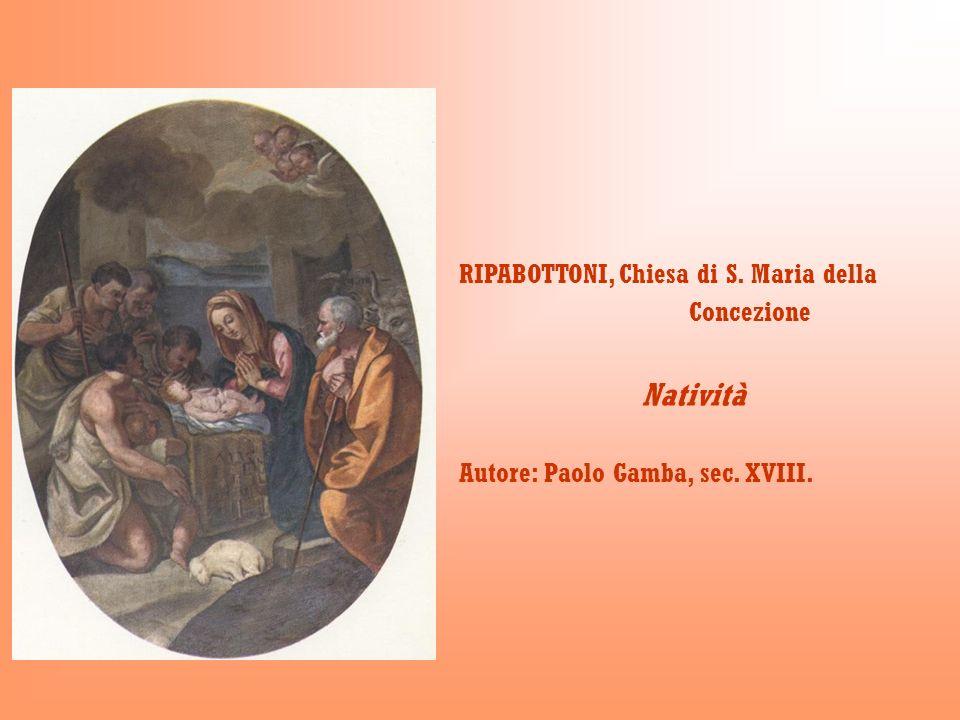 Natività RIPABOTTONI, Chiesa di S. Maria della Concezione