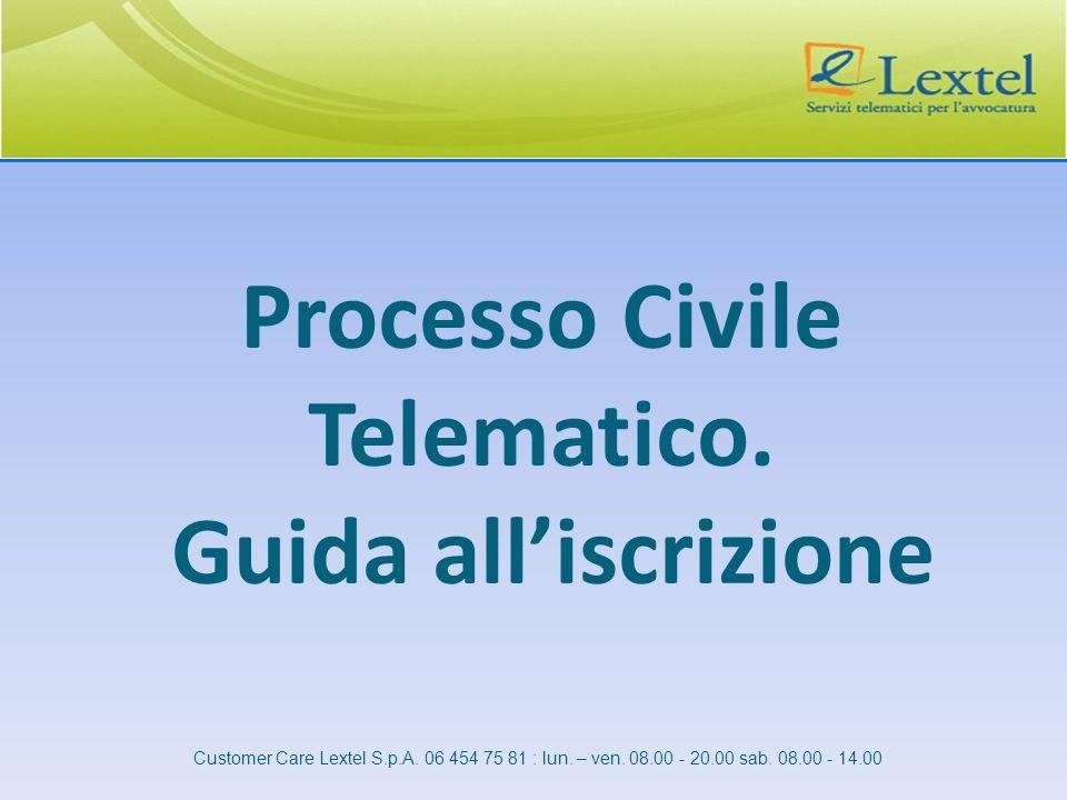 Processo Civile Telematico. Guida all'iscrizione