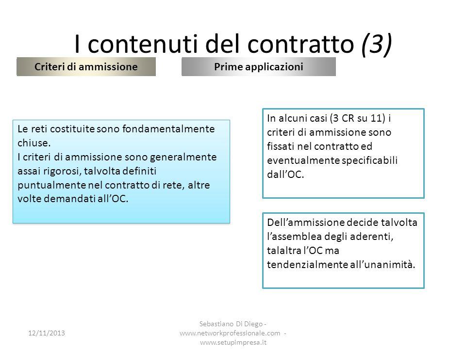 I contenuti del contratto (3)