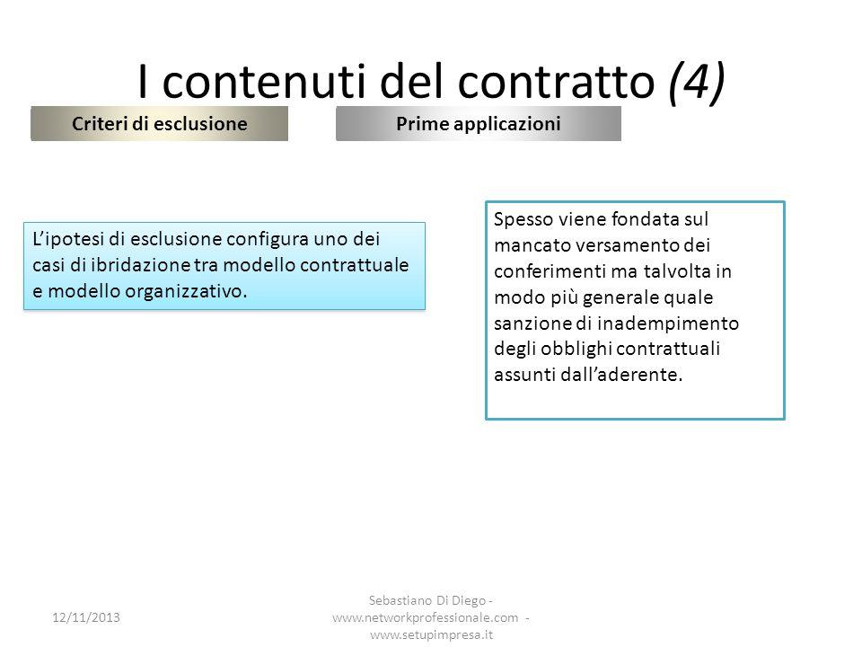 I contenuti del contratto (4)