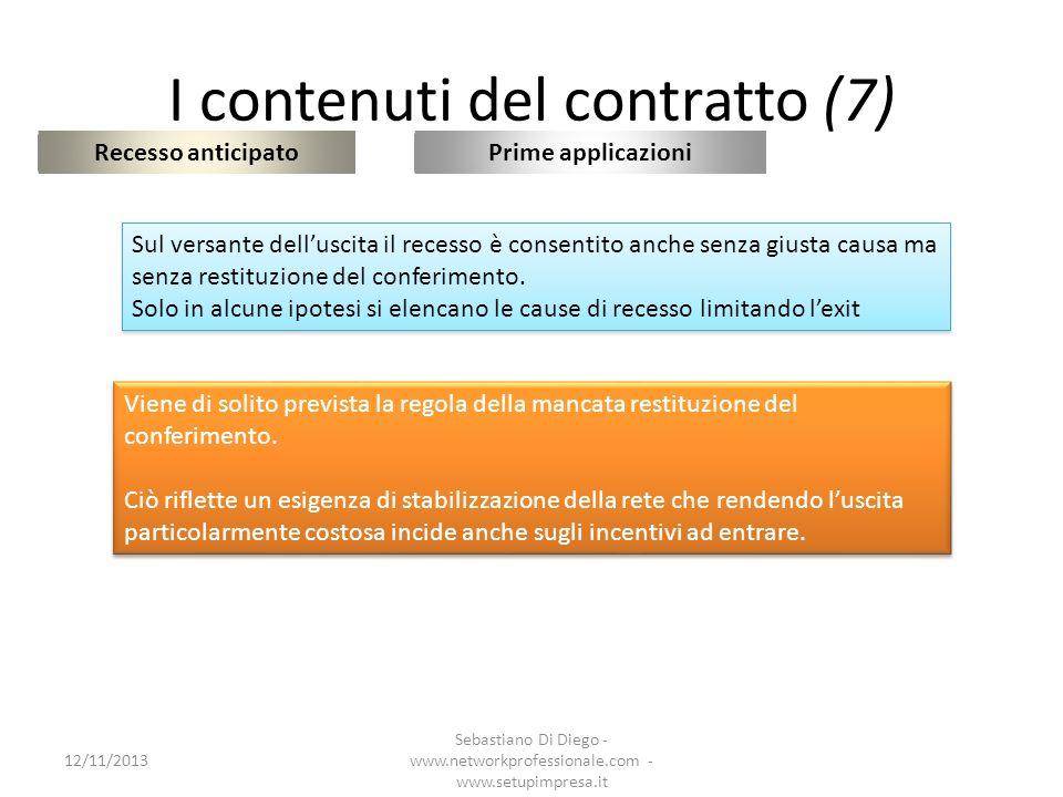 I contenuti del contratto (7)