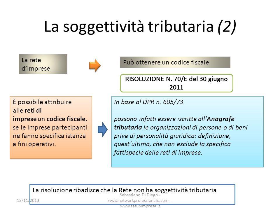 La soggettività tributaria (2)