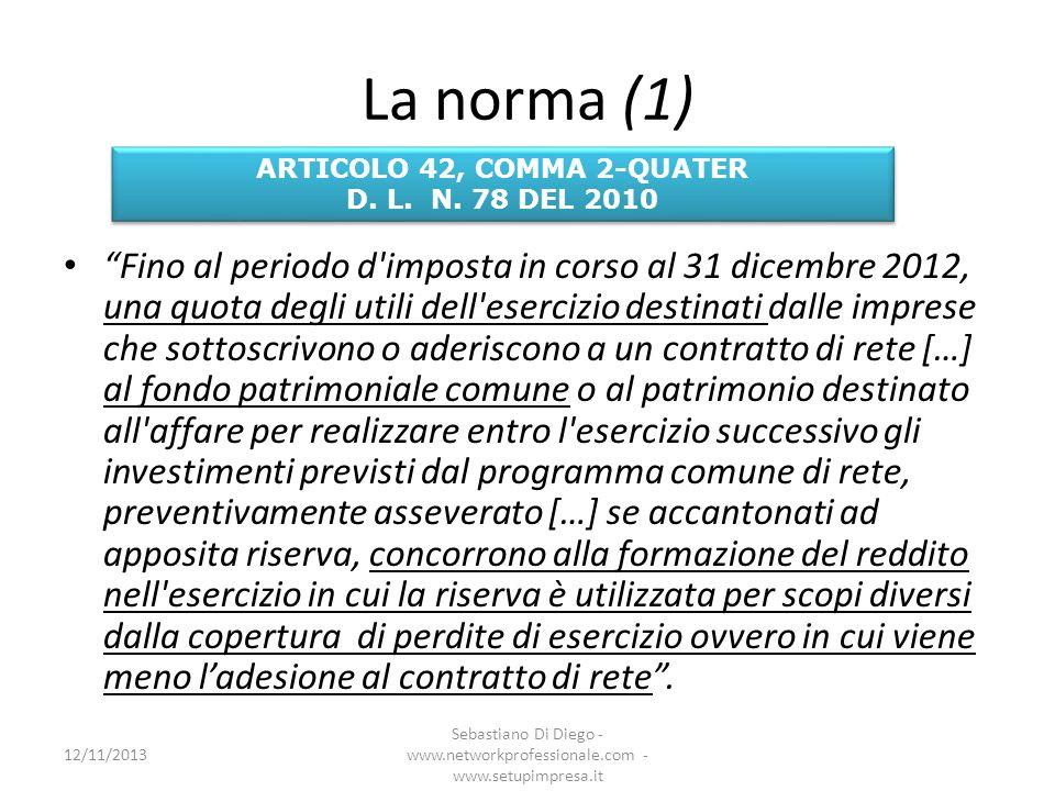 ARTICOLO 42, COMMA 2-QUATER