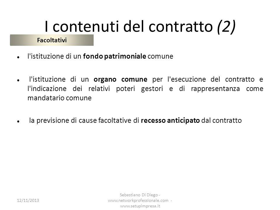 I contenuti del contratto (2)