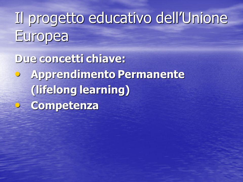 Il progetto educativo dell'Unione Europea
