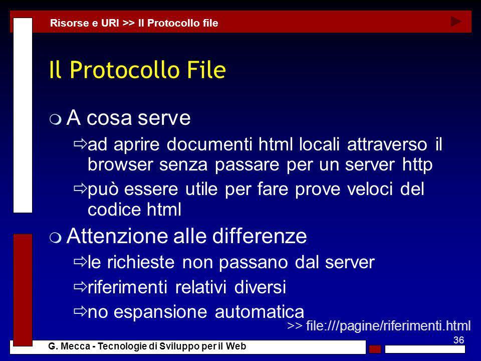 Il Protocollo File A cosa serve Attenzione alle differenze