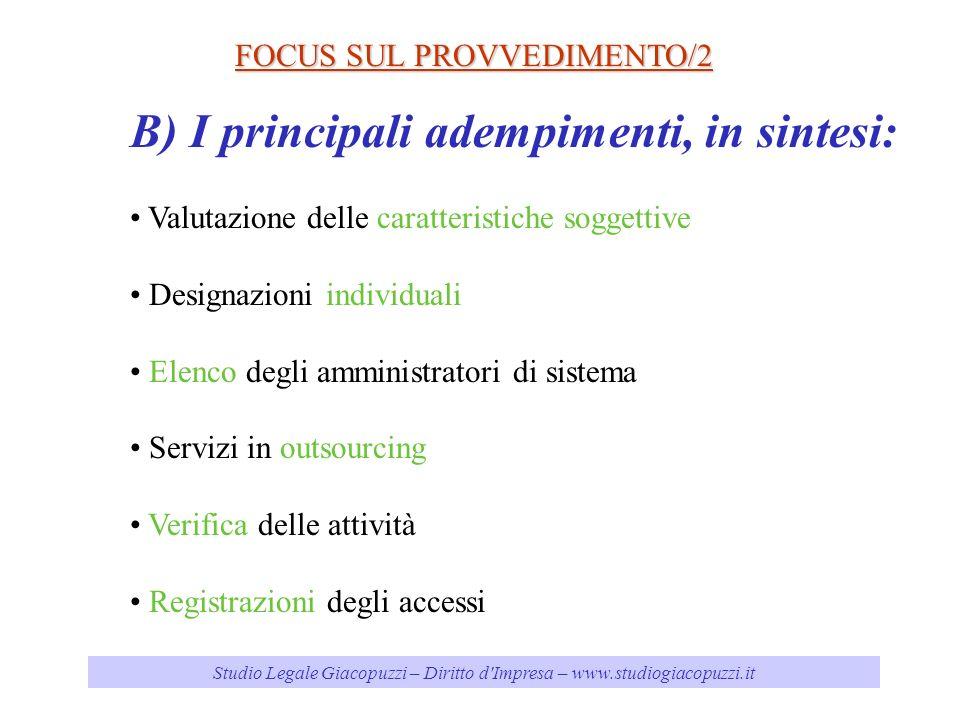 Studio Legale Giacopuzzi – Diritto d Impresa – www.studiogiacopuzzi.it