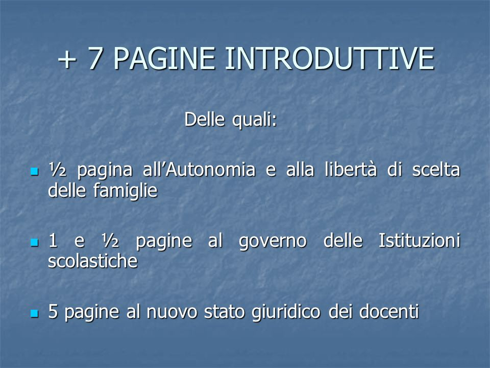 + 7 PAGINE INTRODUTTIVE Delle quali: