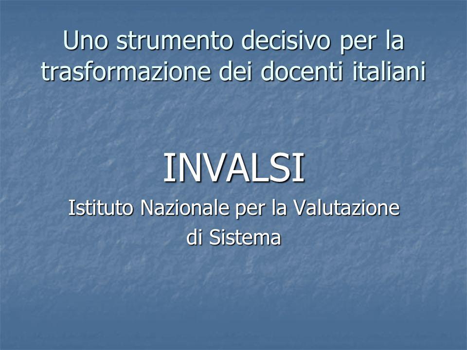 Uno strumento decisivo per la trasformazione dei docenti italiani