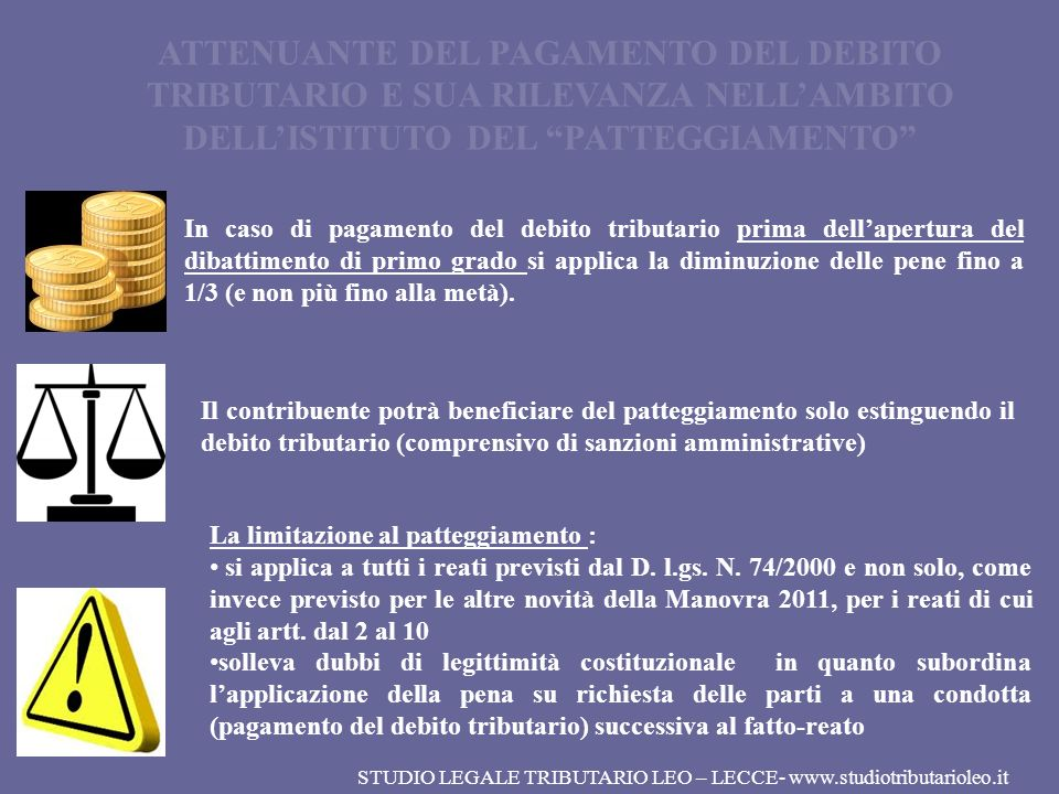 STUDIO LEGALE TRIBUTARIO LEO – LECCE- www.studiotributarioleo.it