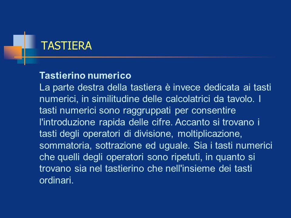 TASTIERA Tastierino numerico
