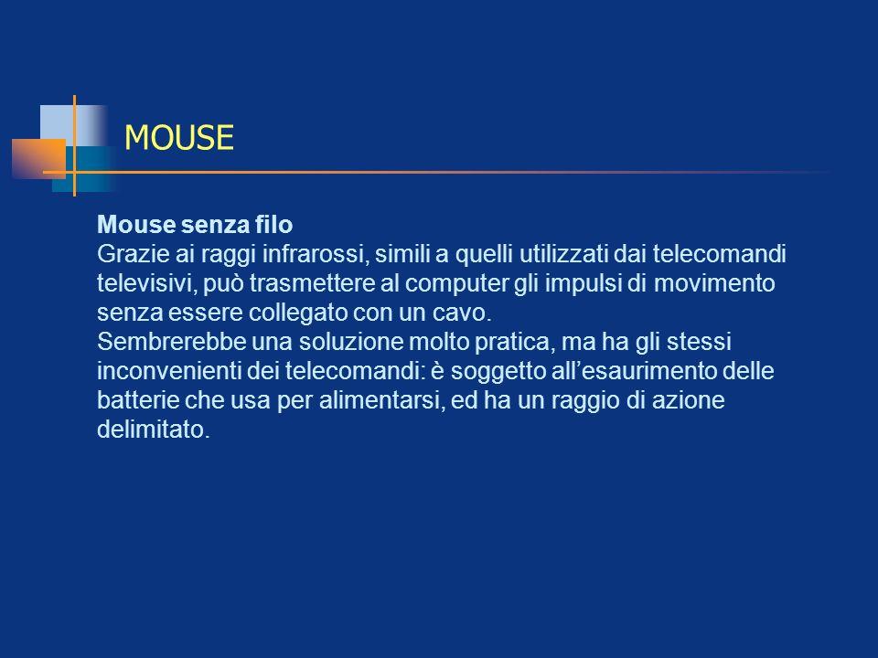 MOUSE Mouse senza filo
