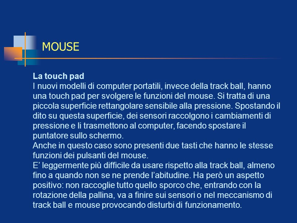 MOUSELa touch pad