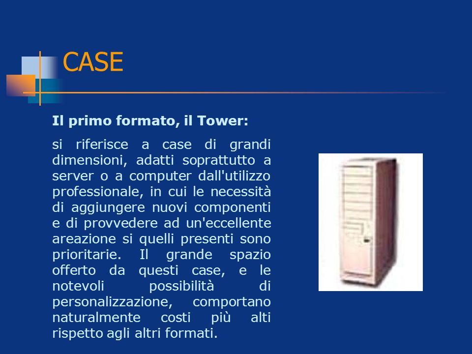 CASE Il primo formato, il Tower: