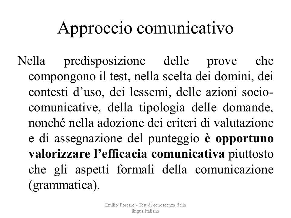 Approccio comunicativo