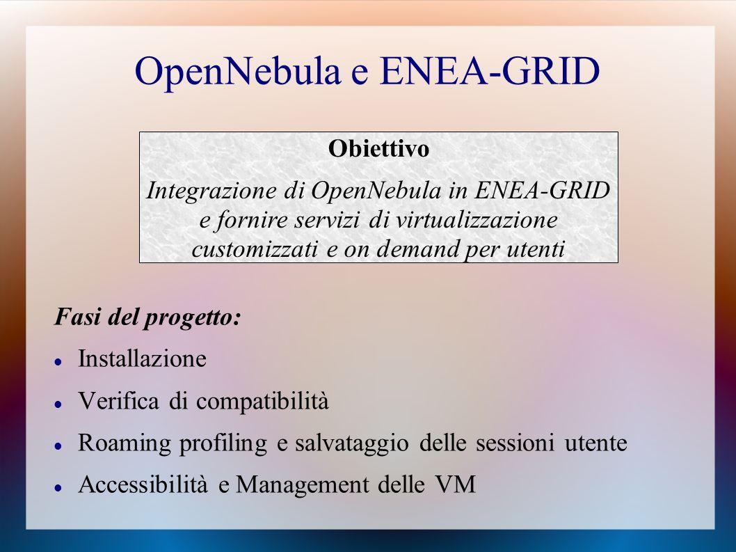 OpenNebula e ENEA-GRID