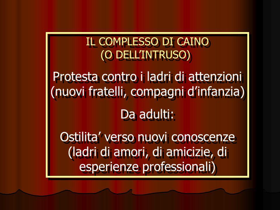 IL COMPLESSO DI CAINO (O DELL'INTRUSO)