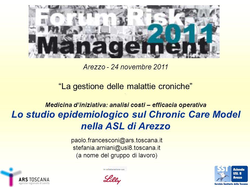 Lo studio epidemiologico sul Chronic Care Model nella ASL di Arezzo