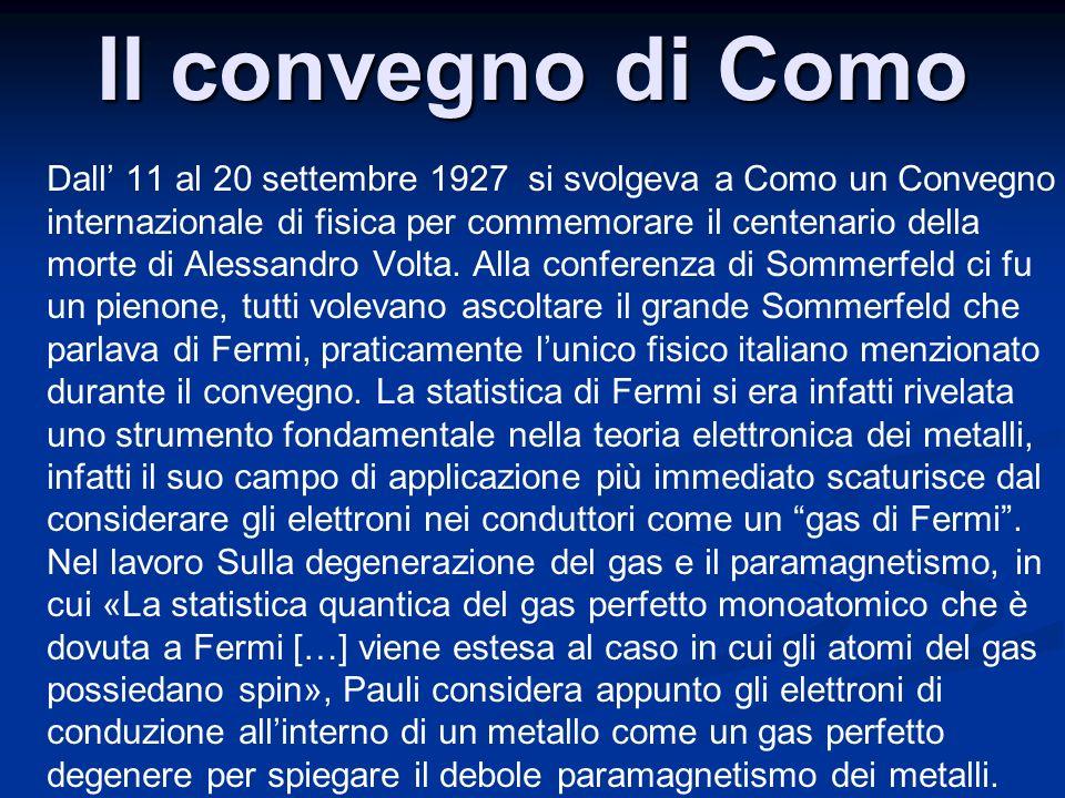 Il convegno di Como