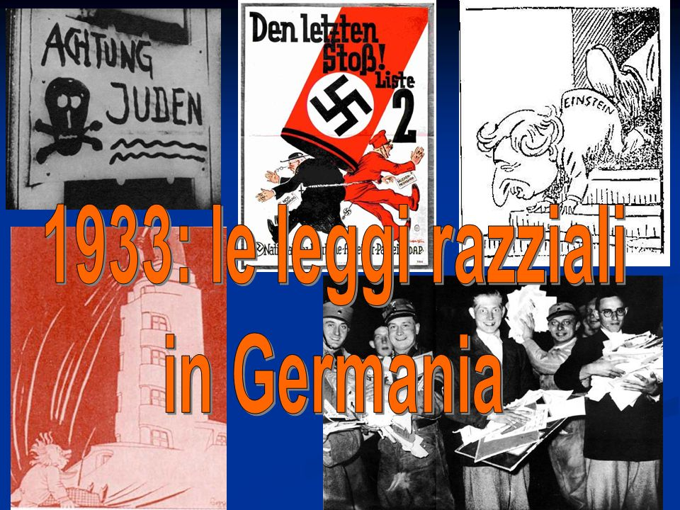 1933: le leggi razziali in Germania