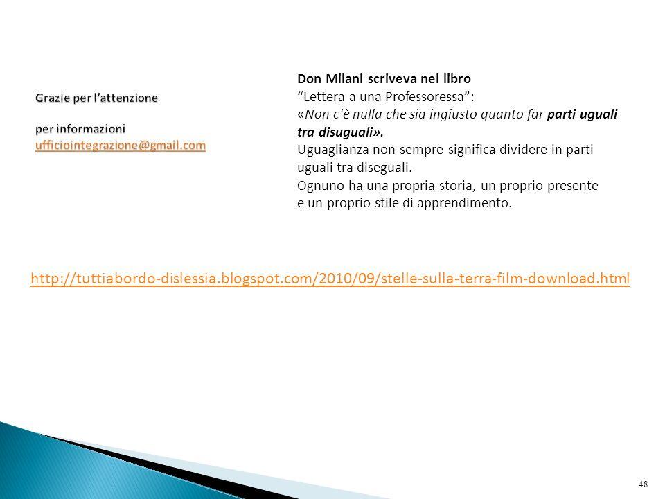 Grazie per l'attenzione per informazioni ufficiointegrazione@gmail.com