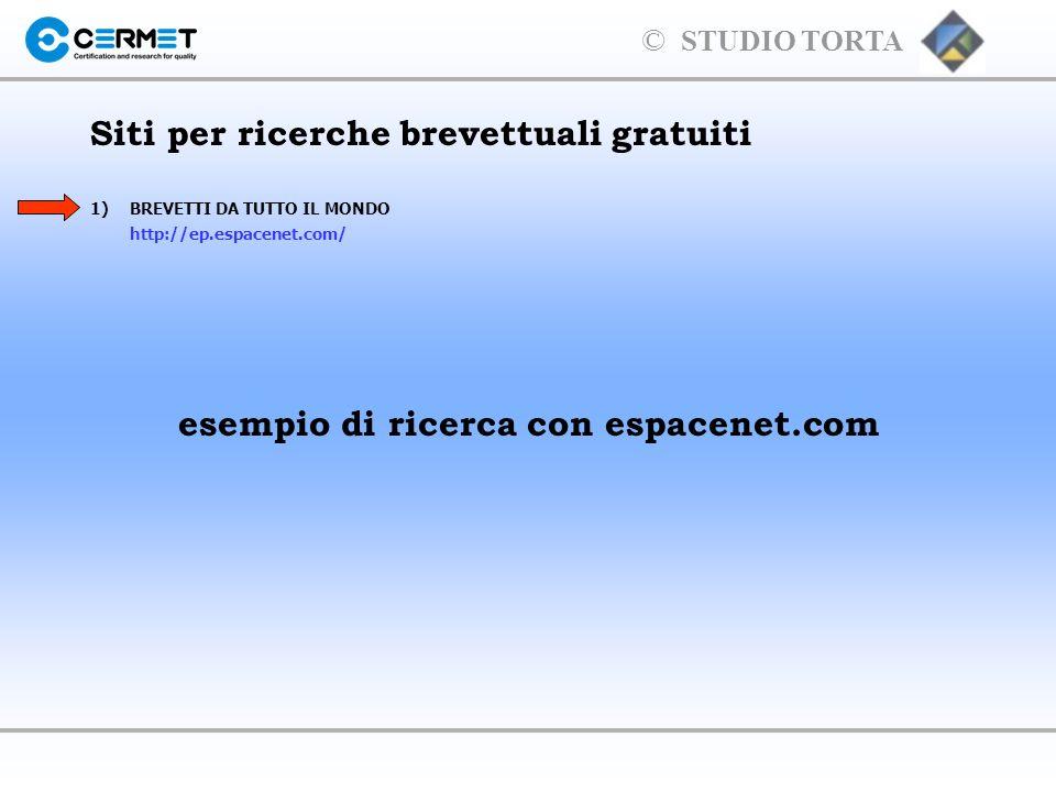 Siti per ricerche brevettuali gratuiti