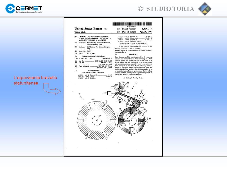 L'equivalente brevetto