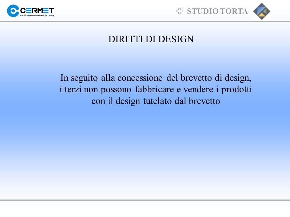 DIRITTI DI DESIGN