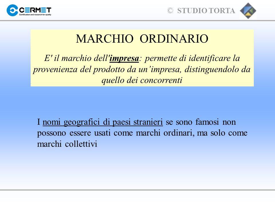 MARCHIO ORDINARIO