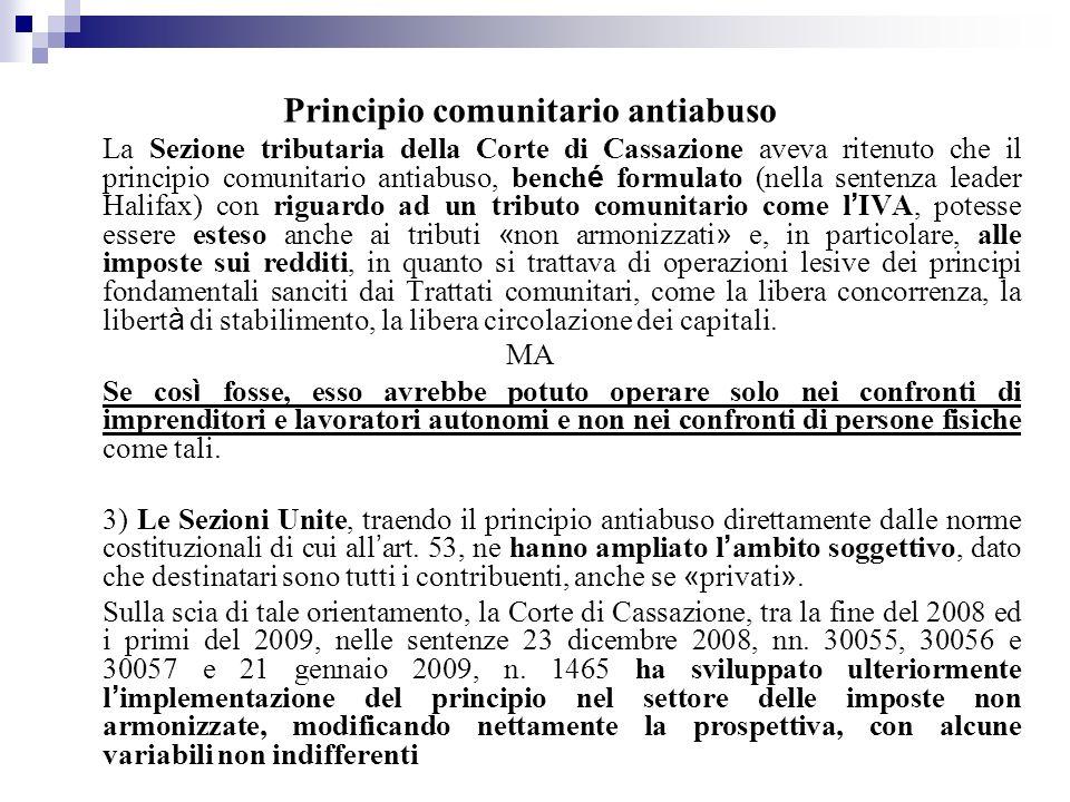 Principio comunitario antiabuso