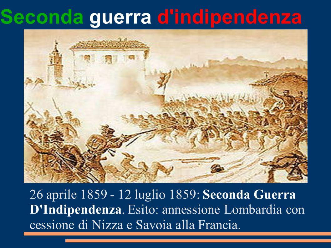 Seconda guerra d indipendenza